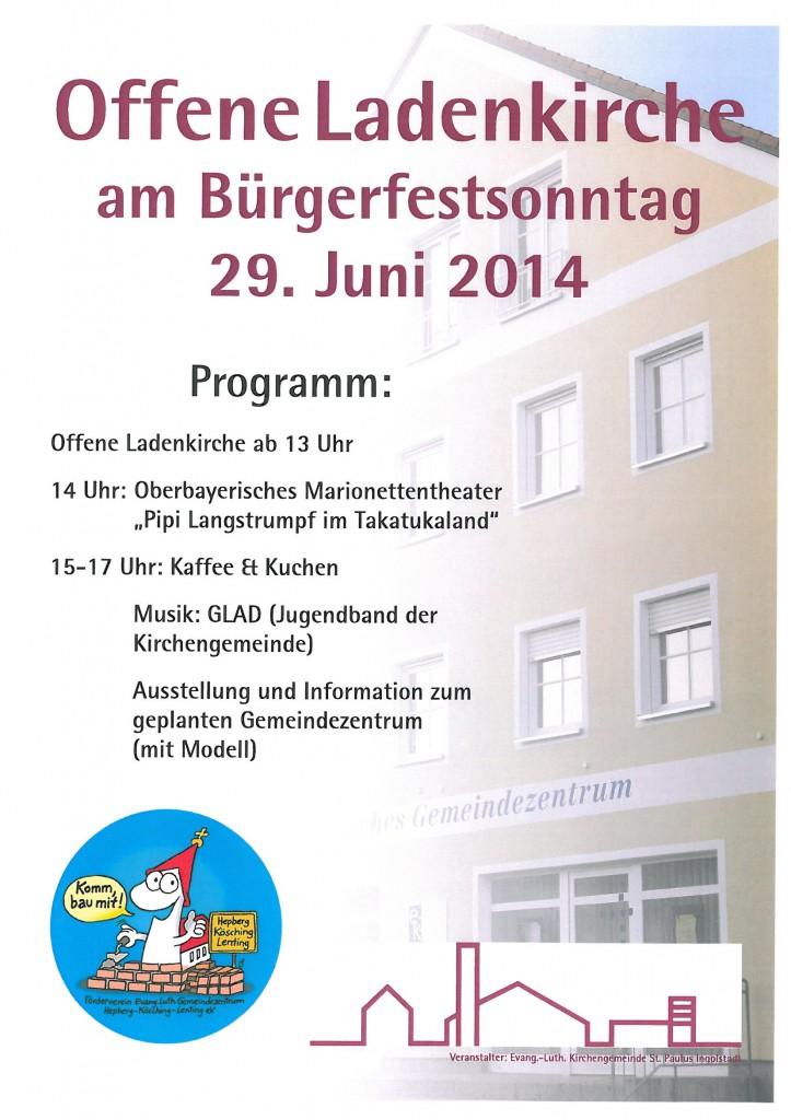Bürgerfestplakat